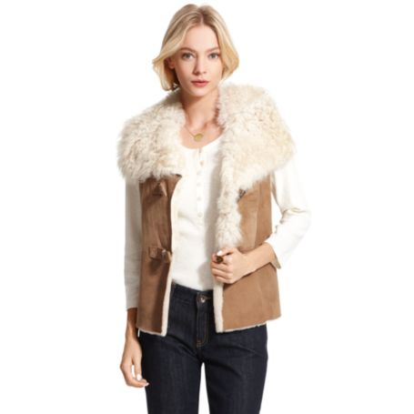 Image for SHEARLING VEST from Tommy Hilfiger USA