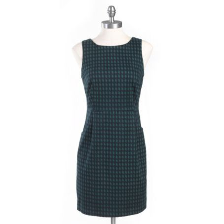 Image for PRINTED HOUNDSTOOTH SLEEVELESS DRESS from Tommy Hilfiger USA