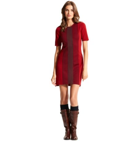Image for PONTE VERTICAL COLORBLOCK DRESS from Tommy Hilfiger USA