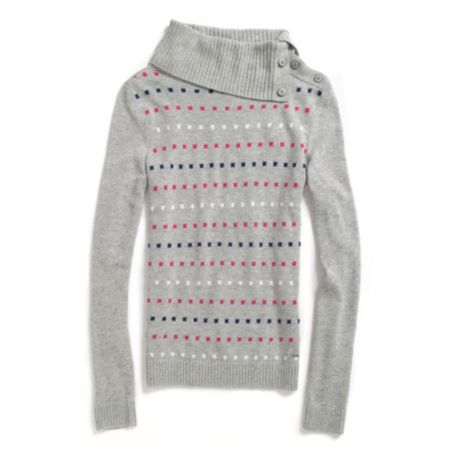 Image for DOT SLITNECK SWEATER from Tommy Hilfiger USA