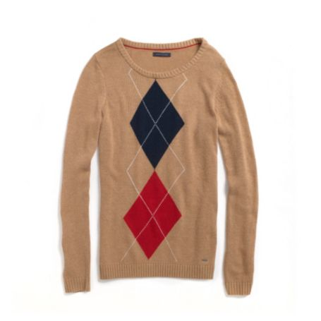 Image for ARGYLE BATEAU SWEATER from Tommy Hilfiger USA