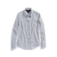 LONG SLEEVE FOULARD SHIRT $39.99