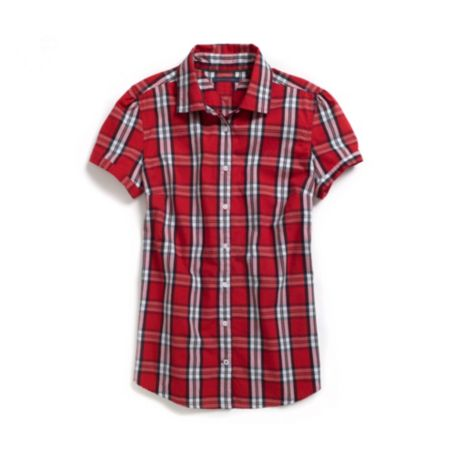 Image for BLACKWATCH PLAID SHORT SLEEVE SHIRT from Tommy Hilfiger USA