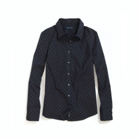 Image for STRETCH SATEEN LONG SLEEVE TH PRINTED SHIRT from Tommy Hilfiger USA