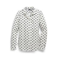 POLKA DOT LONG SLEEVE SHIRT $44.99