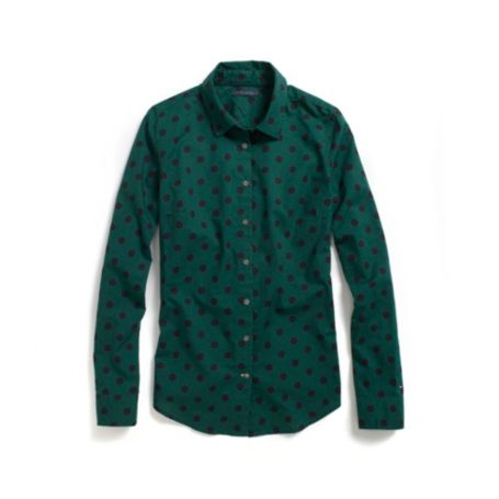 Image for POLKA DOT LONG SLEEVE SHIRT from Tommy Hilfiger USA