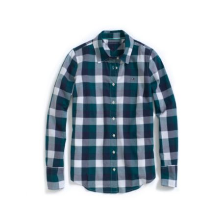 Image for LONG SLEEVE BUFFALO CHECK SHIRT from Tommy Hilfiger USA