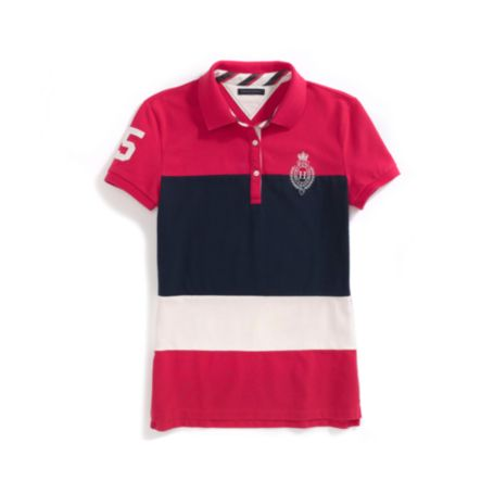Image for COLORBLOCK PIECED POLO from Tommy Hilfiger USA