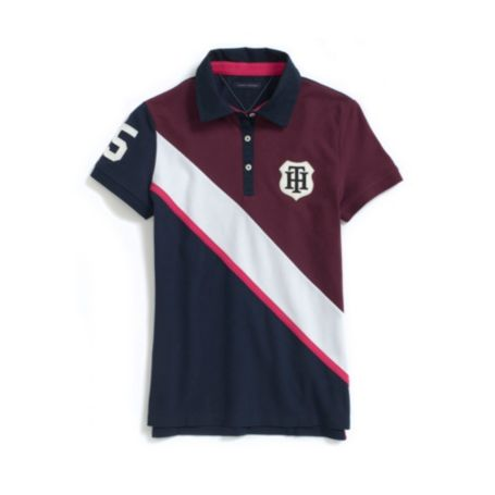 Image for BANNER PIECED POLO from Tommy Hilfiger USA