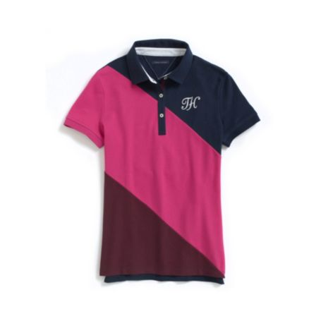 Image for PIECED POLO from Tommy Hilfiger USA