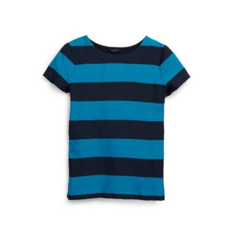 Image for SHORT SLEEVE RUGBY STRIPE TEE from Tommy Hilfiger USA