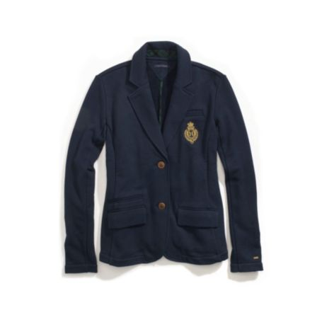 Image for SCHOOL BOY FLEECE KNIT BLAZER from Tommy Hilfiger USA