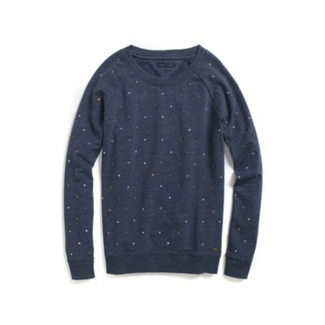 Image for EMBELLISHED FLEECE PULLOVER from Tommy Hilfiger USA