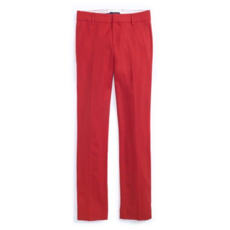 CROPPED SOLID TROUSER PANT