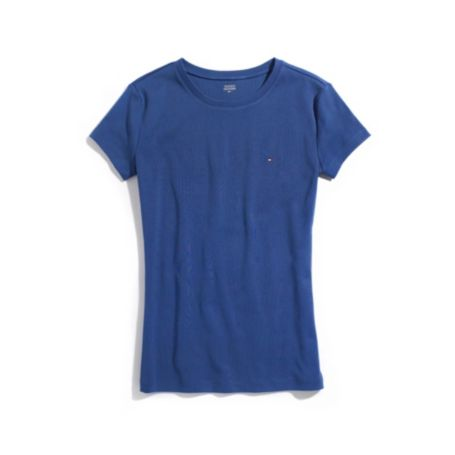 Image for SHORT SLEEVE FAVORITE CREW NECK TEE from Tommy Hilfiger USA