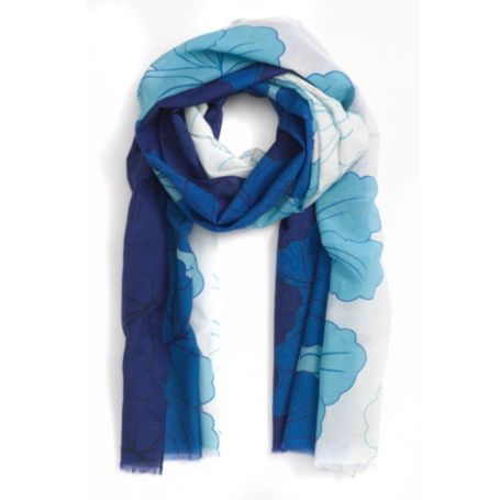 Image for HIBISCUS FLORAL SCARF from Tommy Hilfiger USA