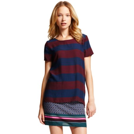 Image for STRIPE PRINTED SHIRT from Tommy Hilfiger USA