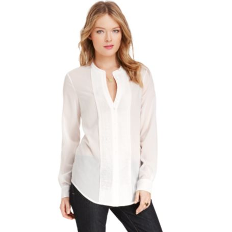 Image for SOLID BLOUSE from Tommy Hilfiger USA