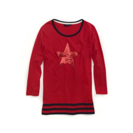 Image for STARS AND STRIPES KNIT TOP from Tommy Hilfiger USA