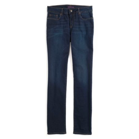 Image for CURVY STRAIGHT DARK WASH JEAN from Tommy Hilfiger USA