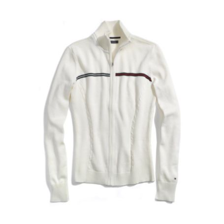 Image for LOGO ZIP UP SWEATER from Tommy Hilfiger USA