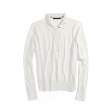 Image for COLLARED LONG SLEEVE SWEATER from Tommy Hilfiger USA