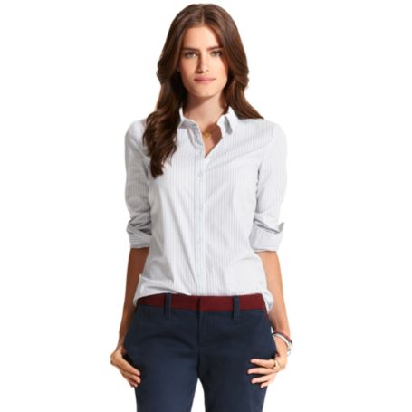 Image for CLASSIC STRETCH STRIPE OXFORD SHIRT from Tommy Hilfiger USA