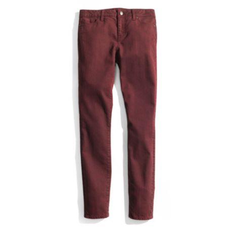 Image for SKINNY PRINTED ANKLE ZIP JEAN from Tommy Hilfiger USA