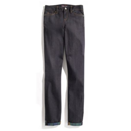 Image for BLACKWATCH PRINT SKINNY JEAN from Tommy Hilfiger USA