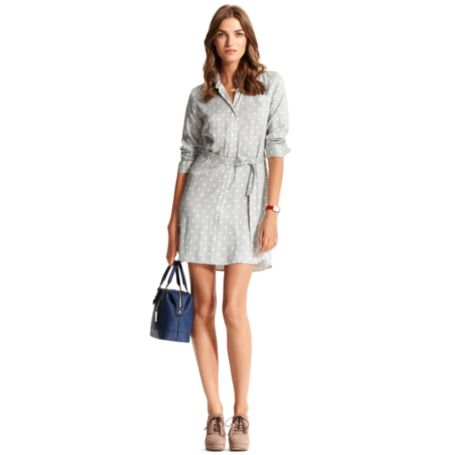 Image for STRIPE SHIRT DRESS from Tommy Hilfiger USA