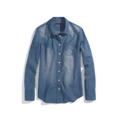 Image for DENIM WASH SHIRT from Tommy Hilfiger USA