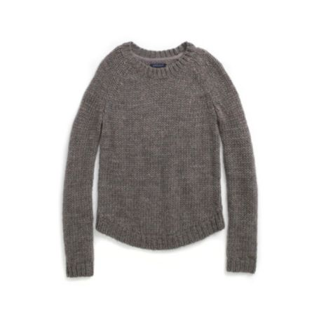 Image for CREW NECK OPEN KNIT SWEATER from Tommy Hilfiger USA