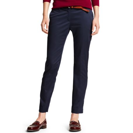 Image for ROME SOLID SLIM ANKLE PANT from Tommy Hilfiger USA