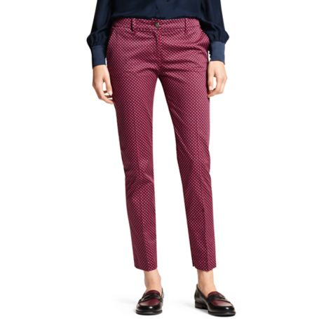 Image for PRINTED ROME SLIM ANKLE PANT from Tommy Hilfiger USA