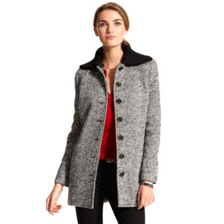 Image for HERRINGBONE COAT from Tommy Hilfiger USA