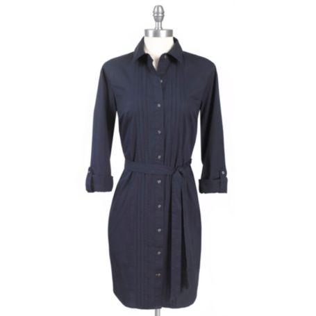 Image for SOLID SHIRTDRESS from Tommy Hilfiger USA