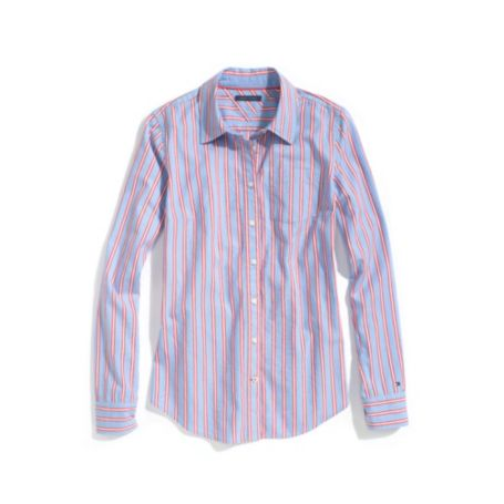 Image for OXFORD LONG SLEEVE MULTI STRIPE SHIRT from Tommy Hilfiger USA