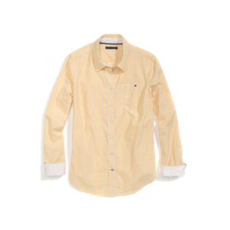 Image for ITHACA STRIPE OXFORD SHIRT from Tommy Hilfiger USA