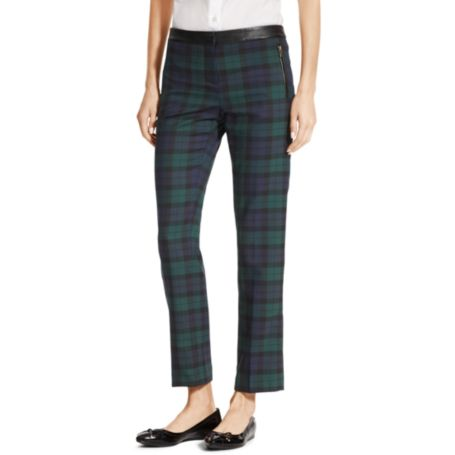Image for CHECKED ANKLE PANT from Tommy Hilfiger USA