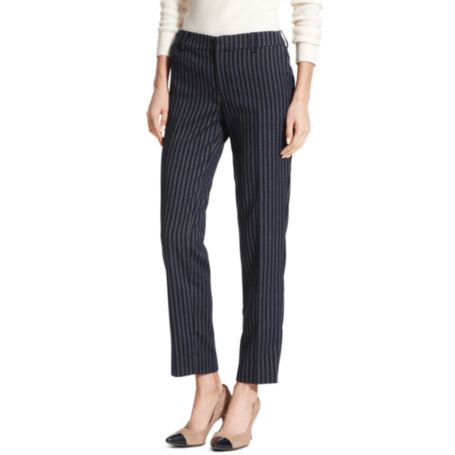 Image for CROPPED STRIPED TROUSER from Tommy Hilfiger USA