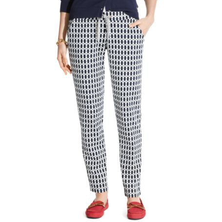 Image for PRINTED PIQUE PANT from Tommy Hilfiger USA