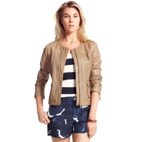 Image for LEATHER JACKET from Tommy Hilfiger USA