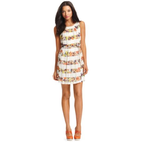 Image for SLEVELESS FLORAL DRESS from Tommy Hilfiger USA