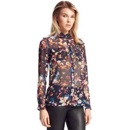 Image for FLORAL BLOUSE from Tommy Hilfiger USA