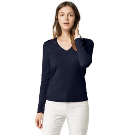 Tommy Hilfiger Classic V-Neck Sweater - Core Navy - Xs