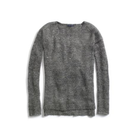 Image for SEQUIN CREW NECK SWEATER from Tommy Hilfiger USA