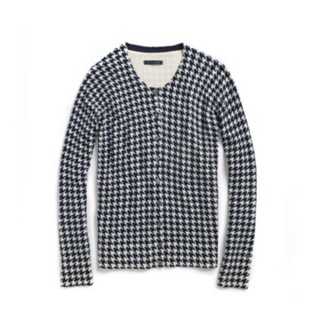 Image for HOUNDSTOOTH PRINT CARDIGAN from Tommy Hilfiger USA