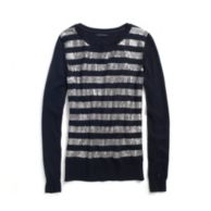 SEQUIN STRIPE SWEATER $69.50