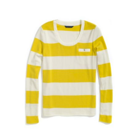 Image for LONG SLEEVE STRIPE TEE from Tommy Hilfiger USA