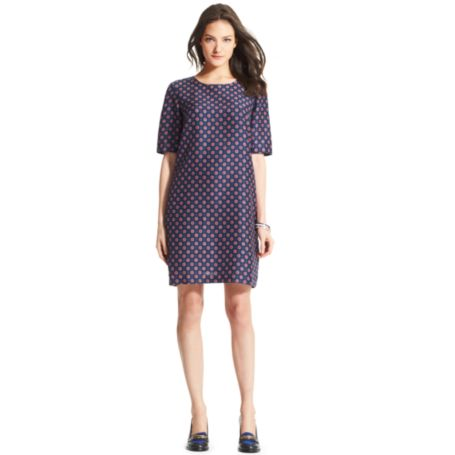 Image for FOULARD PARTY SHIFT DRESS from Tommy Hilfiger USA